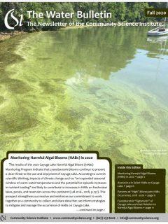Fall 2020 Water Bulletin Cover