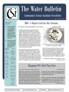 Winter 2014 Water Bulletin Cover
